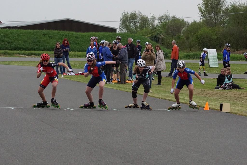 Jan van der Hoorn inline skate competitie