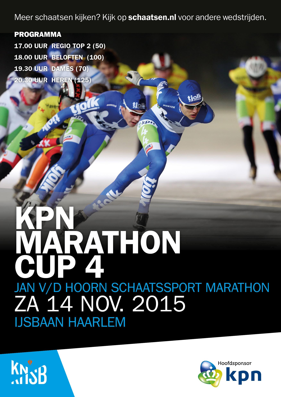 Flyer Jan van der Hoorn Marathon