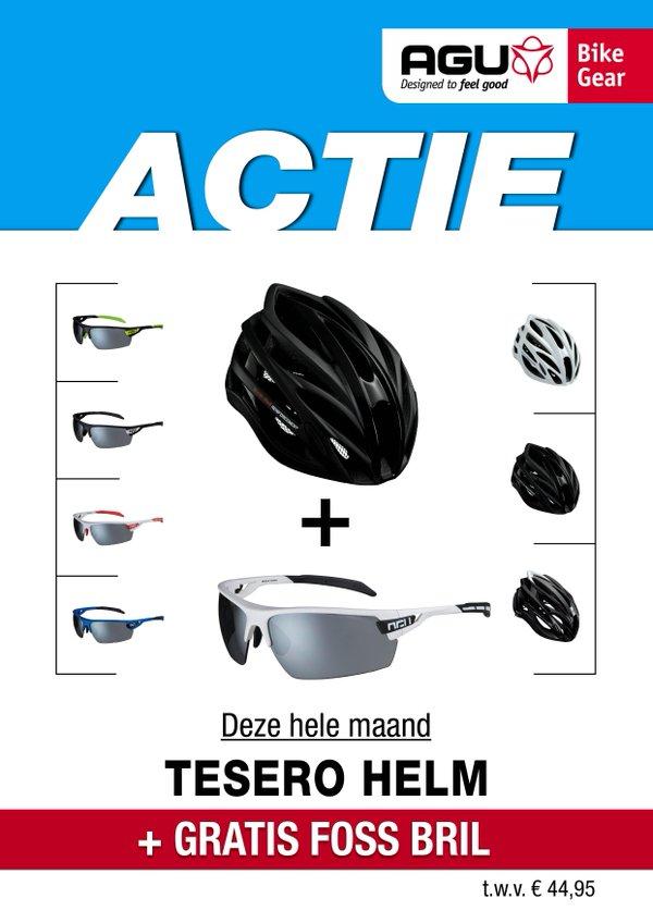 Tesero helm en gratis Foss bril