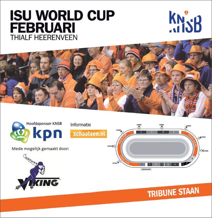 ISU World Cup kaartje