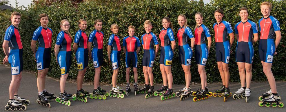 Jan van der Hoorn inline skate wedstrijdteam
