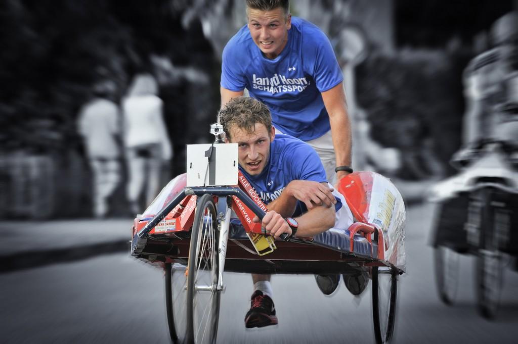 Actie foto Beddenrace 2015