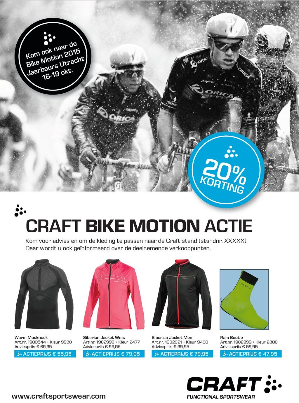 Craft Bike Motion aanbieding