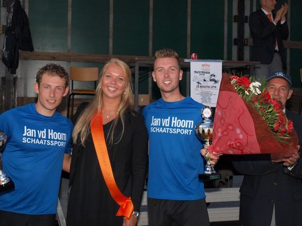 Winnaars beddenrace 2014
