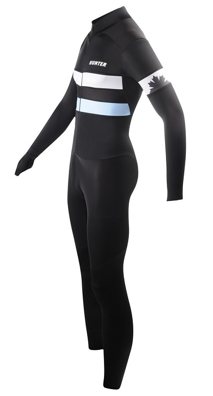 Hunter lycra marathonpak Retro zw/bl XL