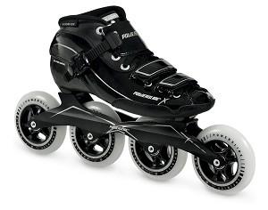 Powerslide X-skate zwart/zilver