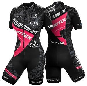 Powerslide Race suit roze