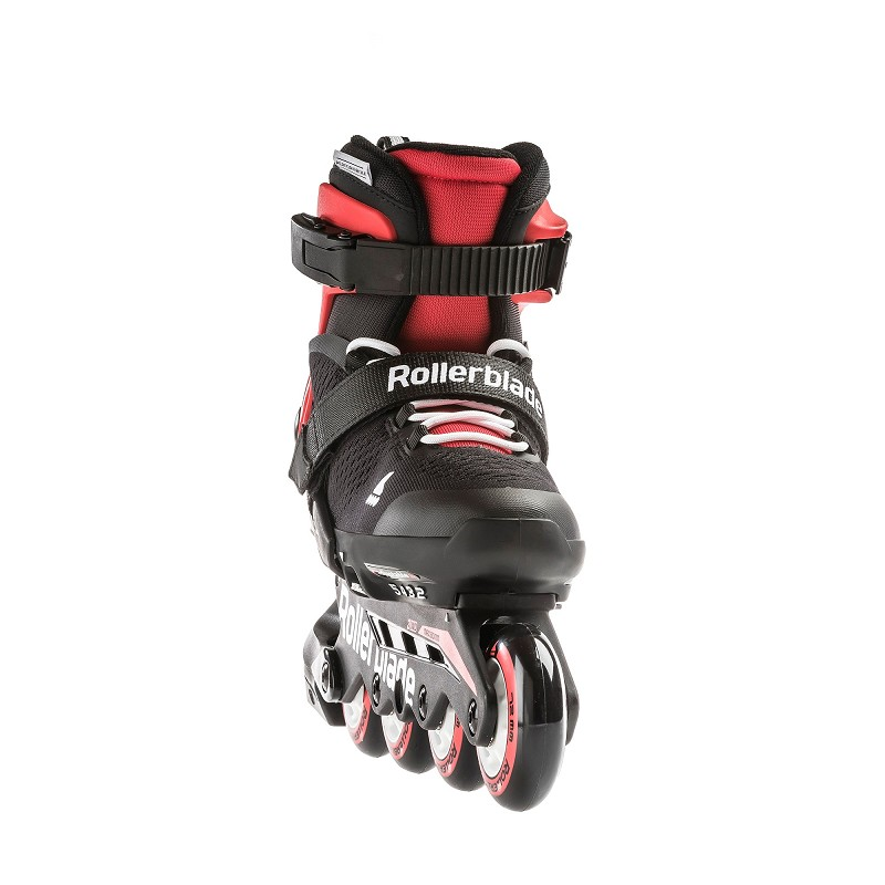 Rollerblade Microblade zwart/rood 33-36