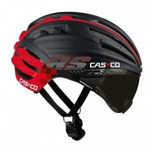 Casco Speedairo RS zwart/rood