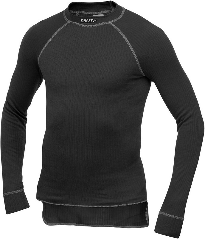 Craft Active shirt lm zwart S