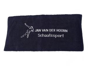 Jan van der Hoorn schaatssport schaatshandoek