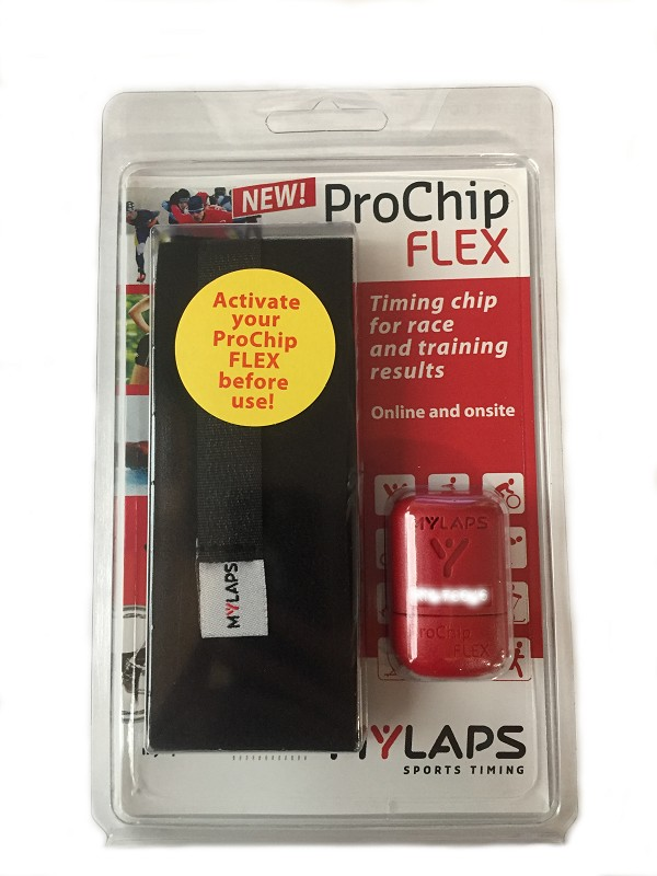 Mylaps Pro Chip Flex transponder 1 jr